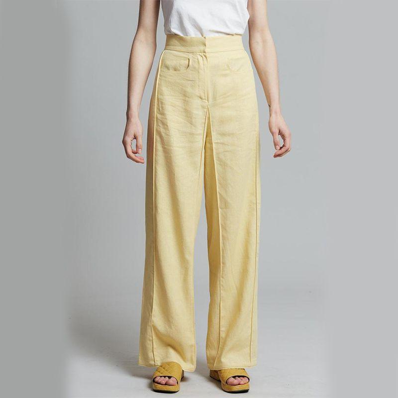 Bevza Linen Square Pants