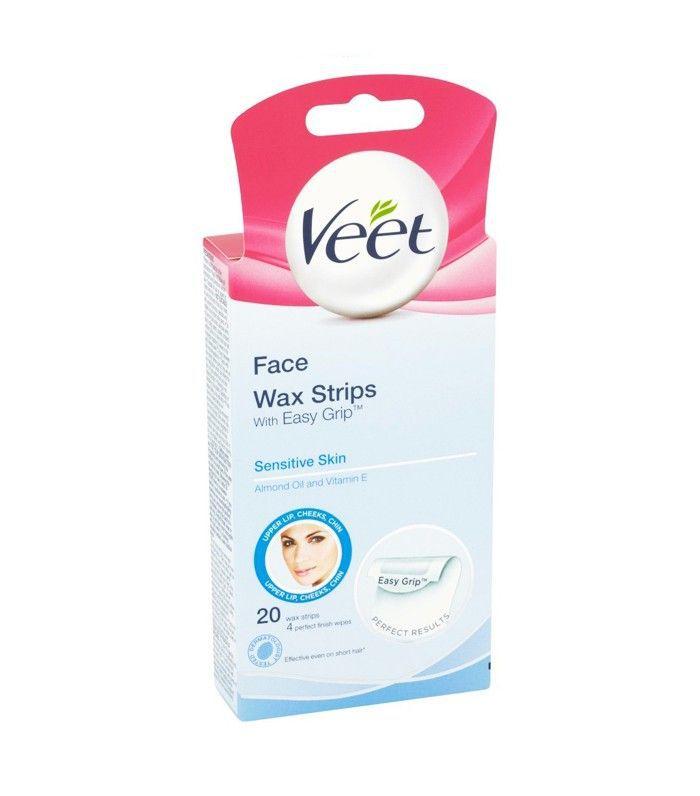 Cult beauty buys on Amazon: Veet Face Wax Strips Sensitive Skin