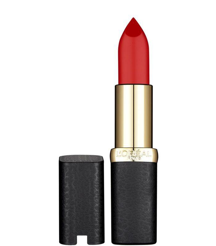 Best Drugstore Lipstick: L'Oréal Paris Color Riche Matte Addiction Lipstick in Haute Rouge