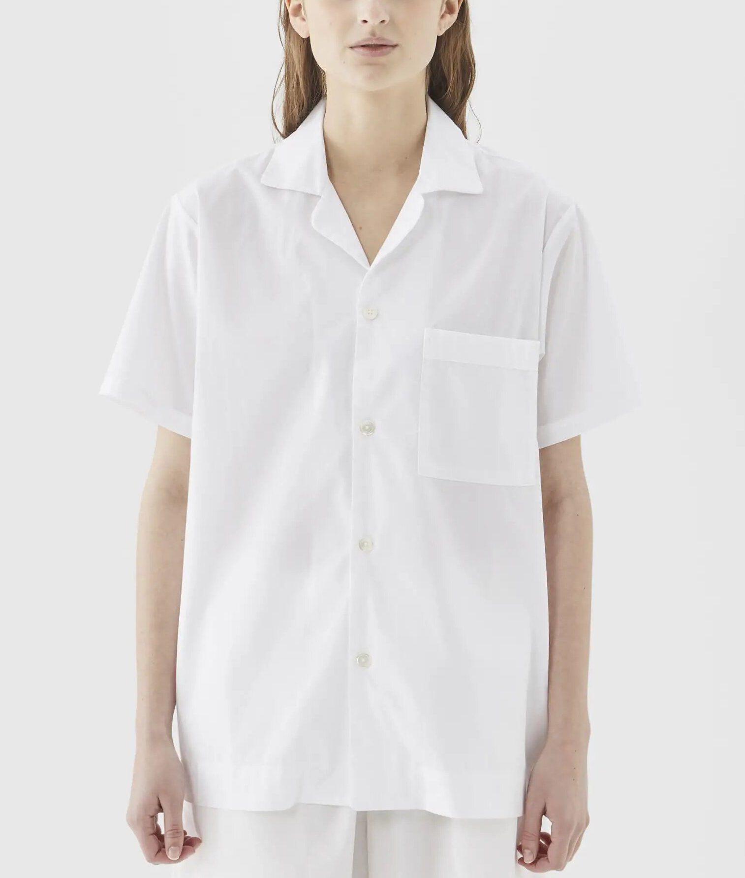 Tekla Poplin Short Sleeve Shirt