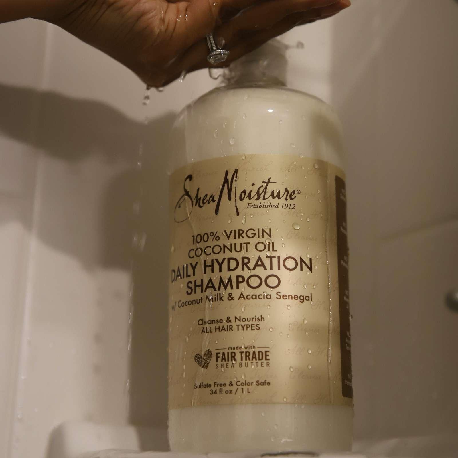 Shea Moisture 100% Virgin Coconut Oil Hydration Shampoo