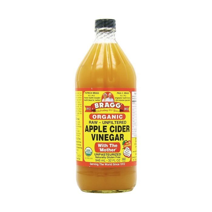 How to get shiny hair: Bragg's Apple Cider Vinegar
