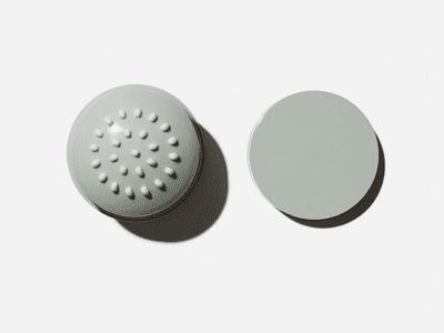 close up of necessaire deodorant