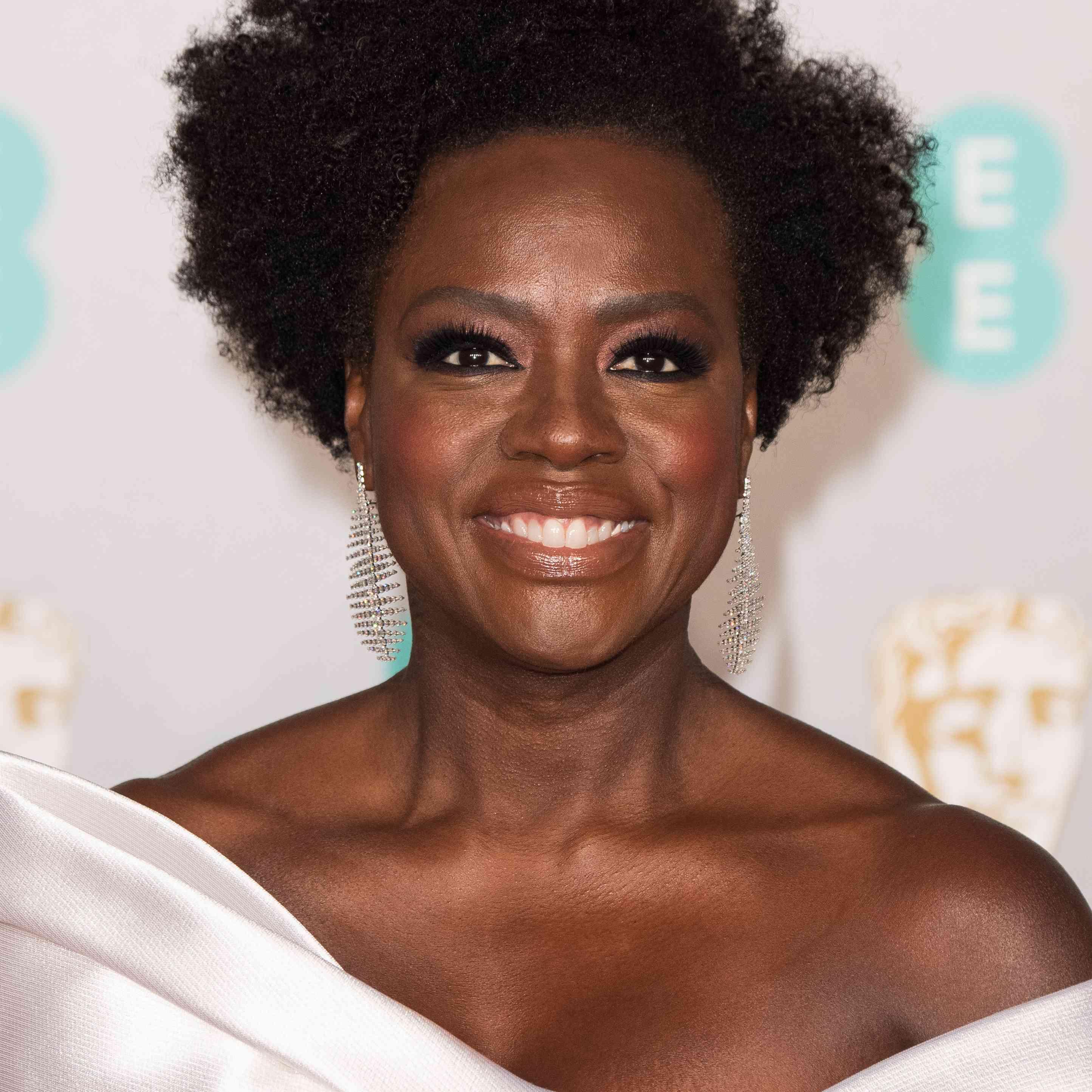 Viola Davis EE British Academy Film Awards - Red Carpet Arrivals