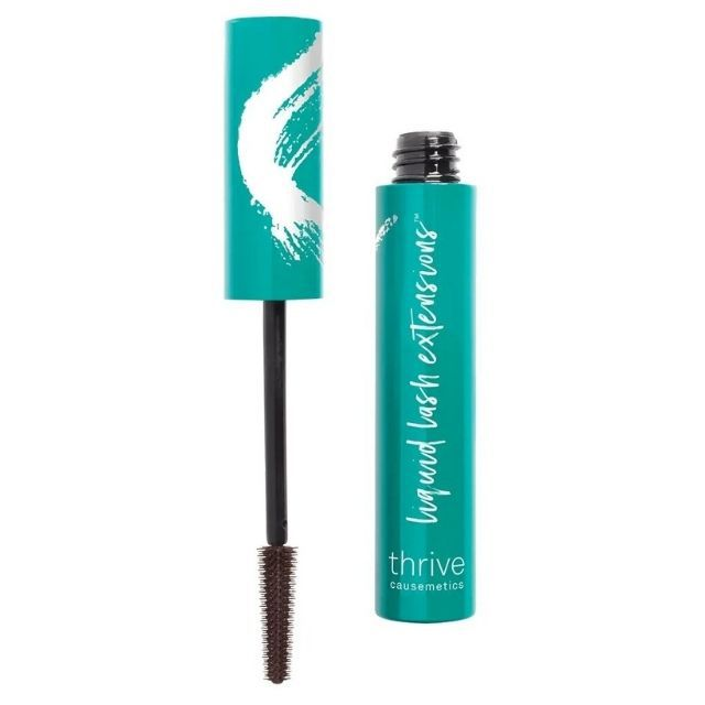 Thrive Causemetics Liquid Lash Extensions Mascara in Brown Black