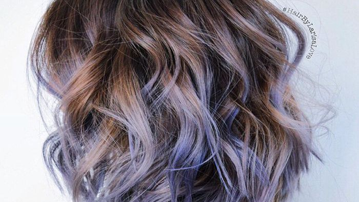 20 Examples Of Purple Balayage Hair Color
