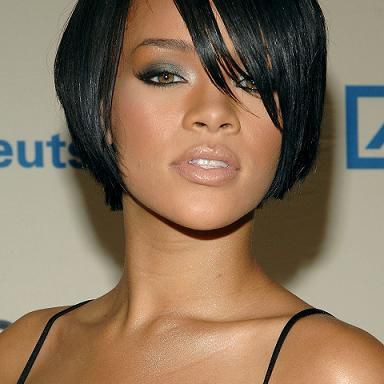 Long Hairstyles For Black Women With Bangs 93