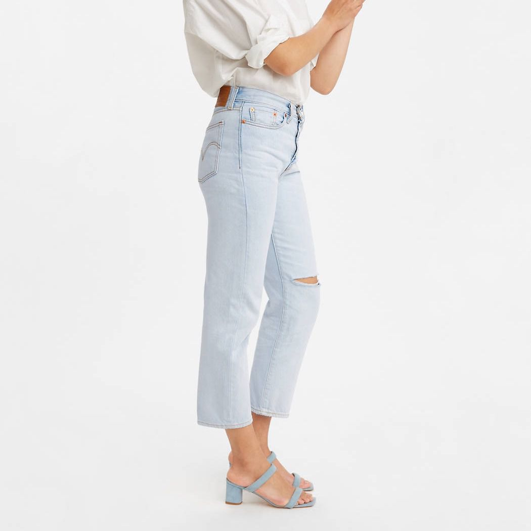 Levi's Wedgie Straight Jeans, Distressed