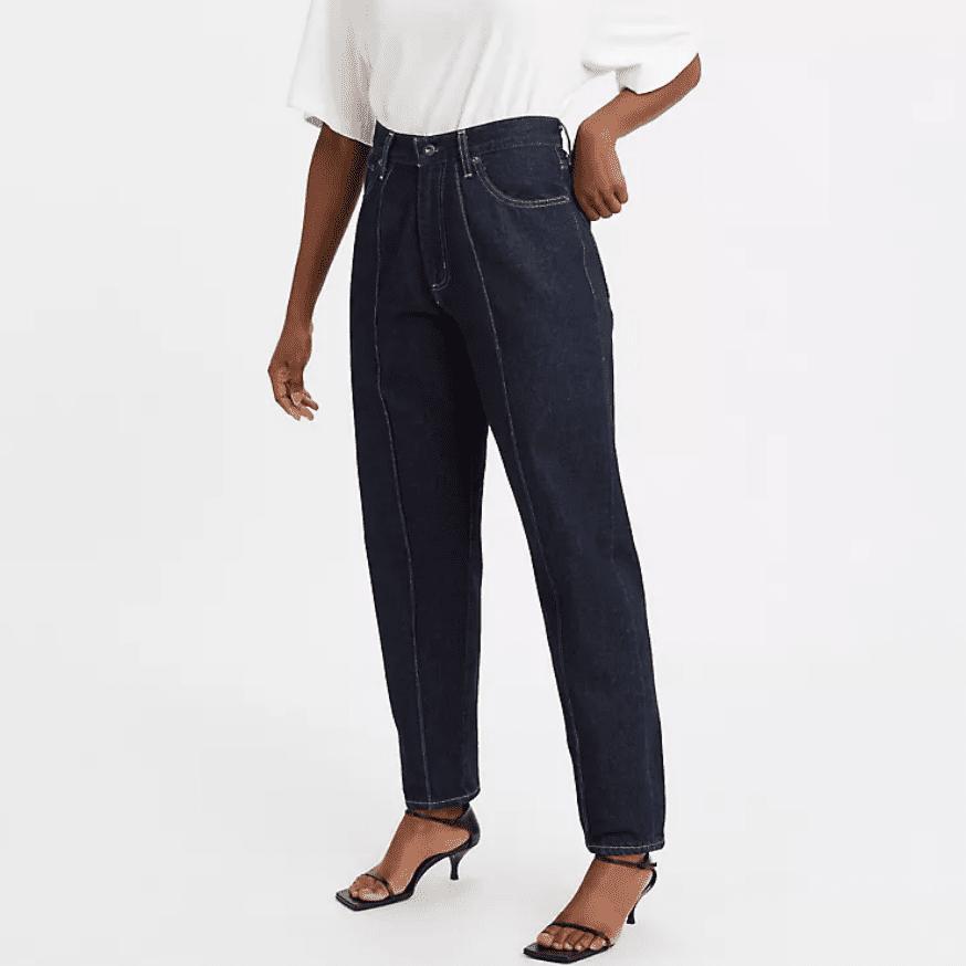 Levi's Pleated Column Jeans