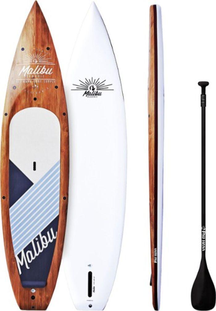 Pau Hana Malibu Tour Stand Up Paddle Board with Paddle