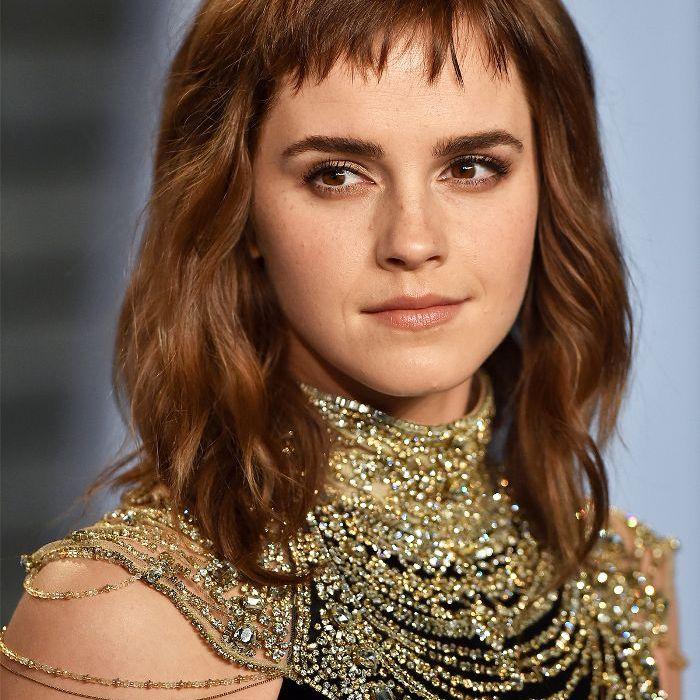 Fringes: Emma Watson With Short Fringe
