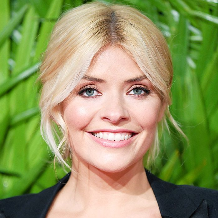 glossier boy brow review: Holly Willoughby attends The Fashion Awards 2017