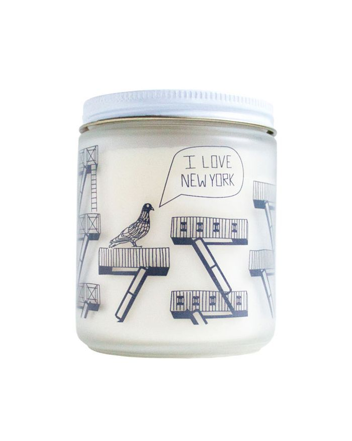 Maptote New York City Candle
