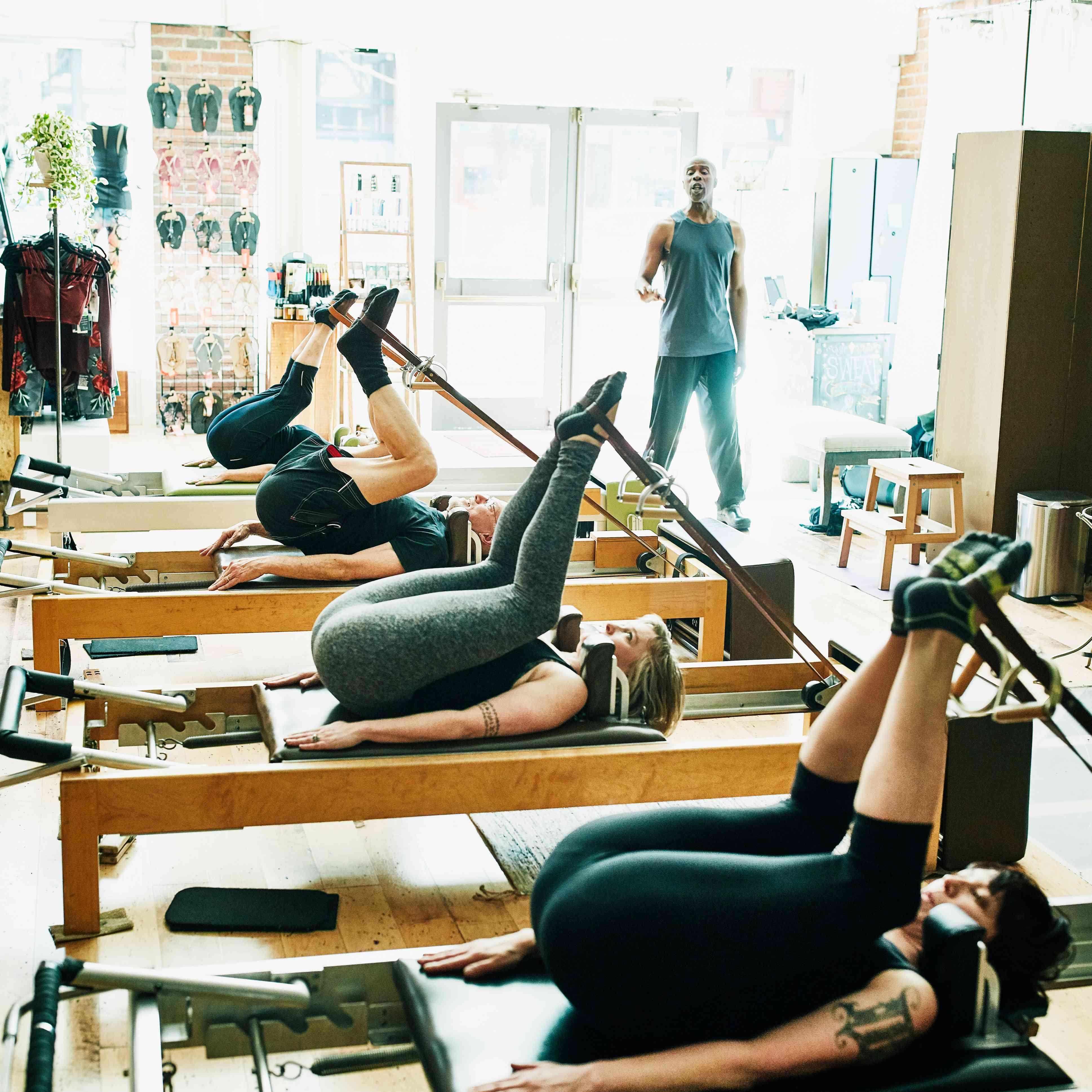 Group Pilates Class