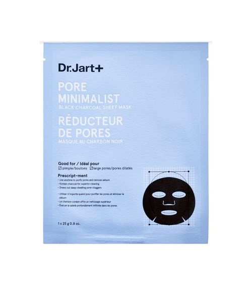 Pore Minimalist Black Charcoal Sheet Mask 5 x 0.8 oz/ 24 mL single-use mask