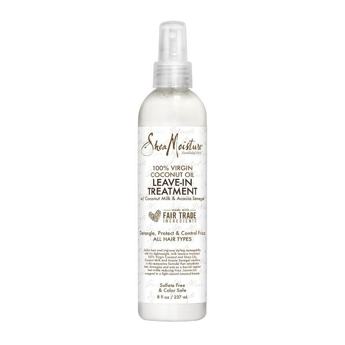 SheaMoisture 100% Virgin Coconut Oil Daily Hydration Leave-In Treatment