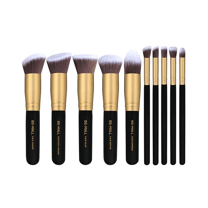 Synthetic Kabuki Makeup Brush Set - Makeup Brushes