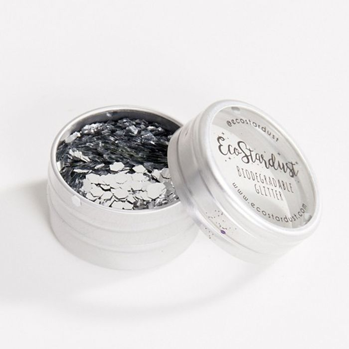 EcoStardust Biodegradable Glitter Pot in Silver