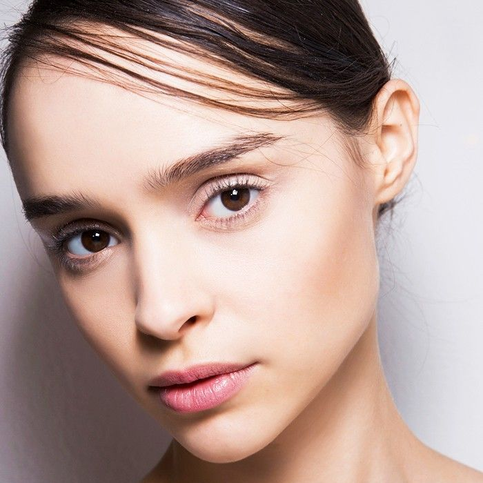 Woman with beautiful, glowing skin