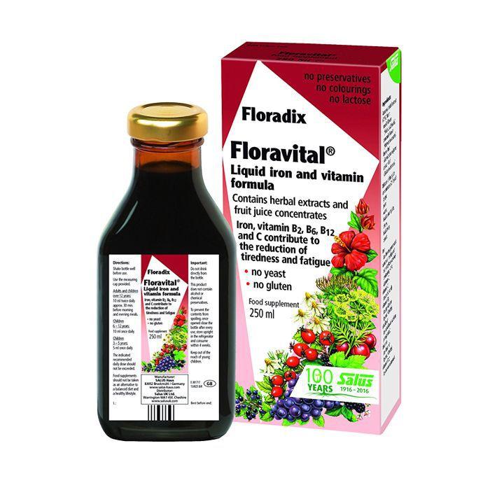 Floravital Liquid Iron Formula