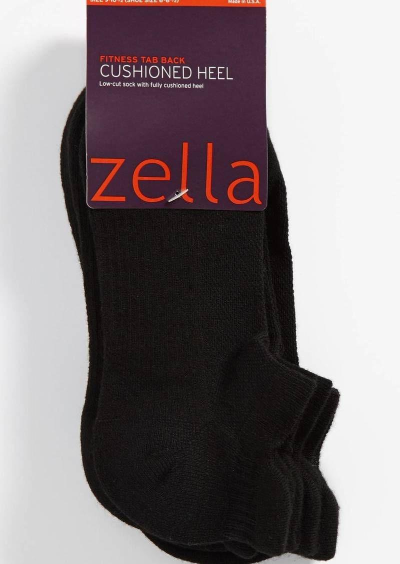 Zella 3-Pack Tab Back Socks