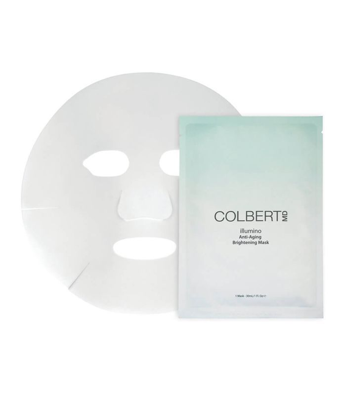 best sheet mask: Colbert MD Illumino Anti-Aging Brightening Mask