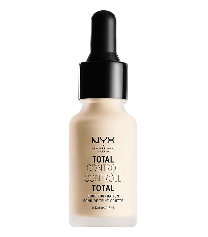 best drugstore foundation for pale skin: NYX Total Control Drop Foundation