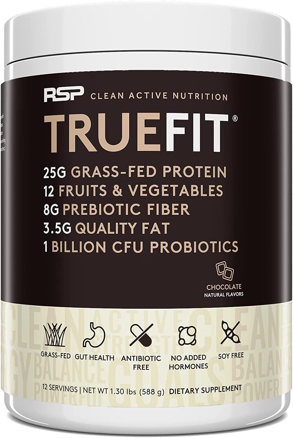 RSP NUTRITION TRUEFIT Protein Powder Meal Replacement Shake