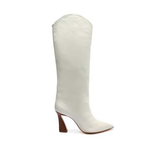 Schutz Maryana Flare Leather Boot
