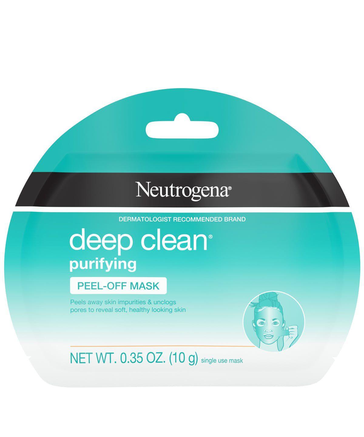 Neutrogena Deep Clean Purifying Peel-Off Face Mask