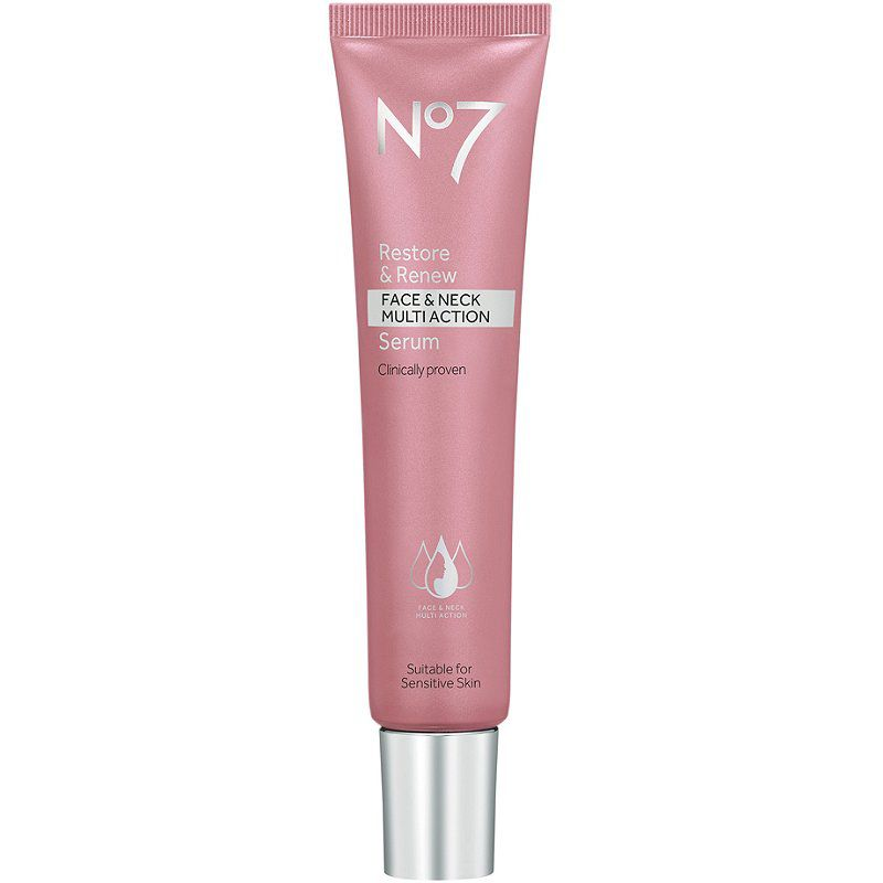 No7 Restore & Renew Face and Neck Multi-Action Serum