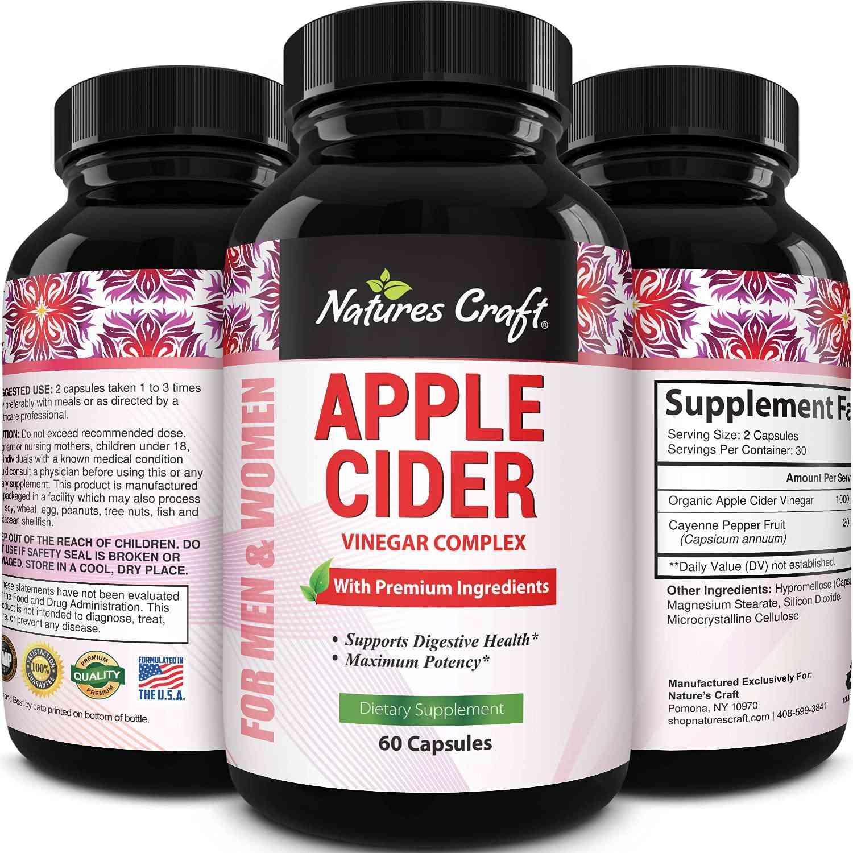 Nature's Craft Apple Cider Vinegar Complex
