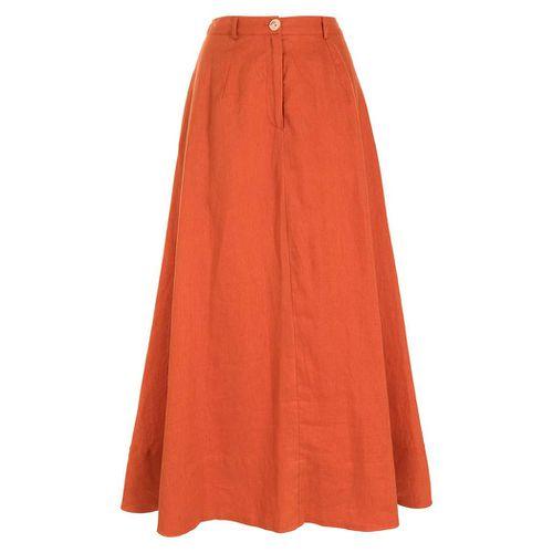Cybele A-Line Long Skirt ($186)