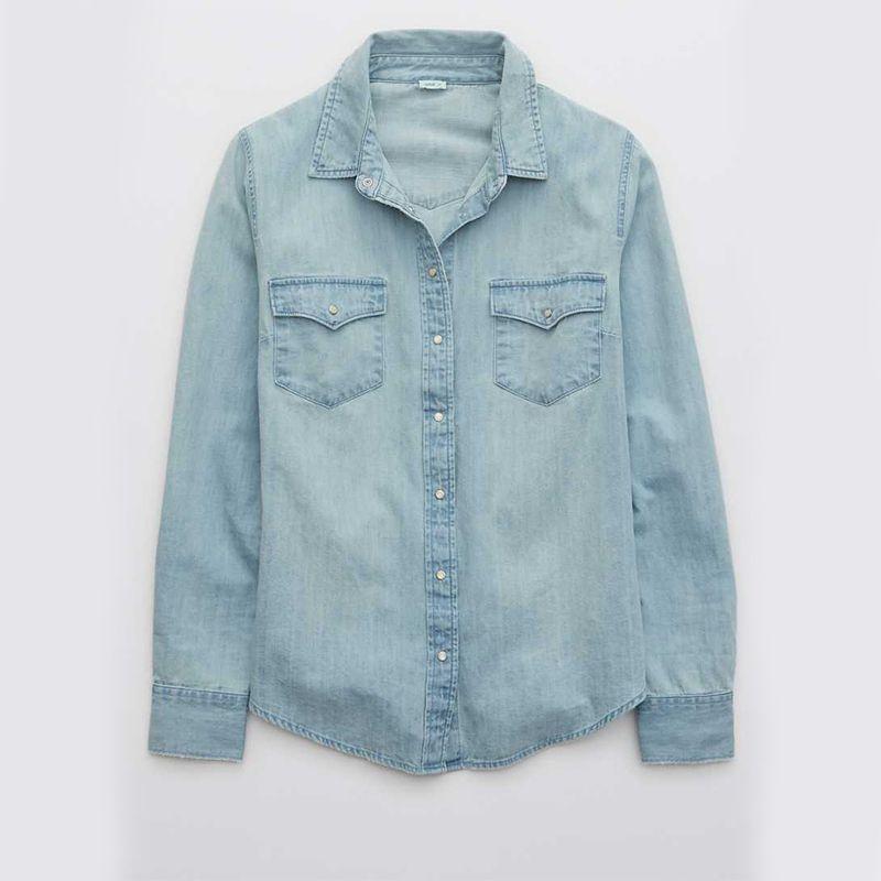 Long Sleeve Western Buttondown Shirt