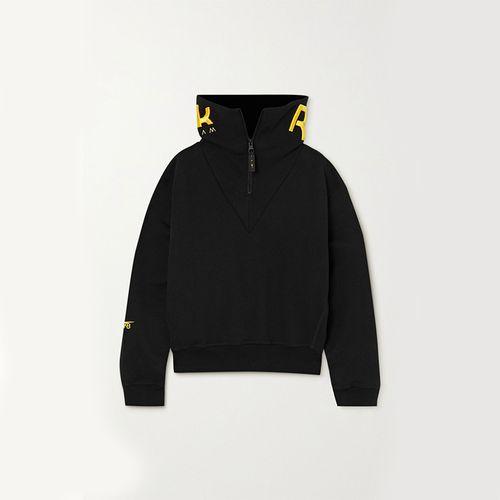 Embroidered Cotton-Jersey Sweatshirt ($280)