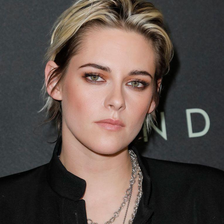 Kristen Stewart short crop haircut