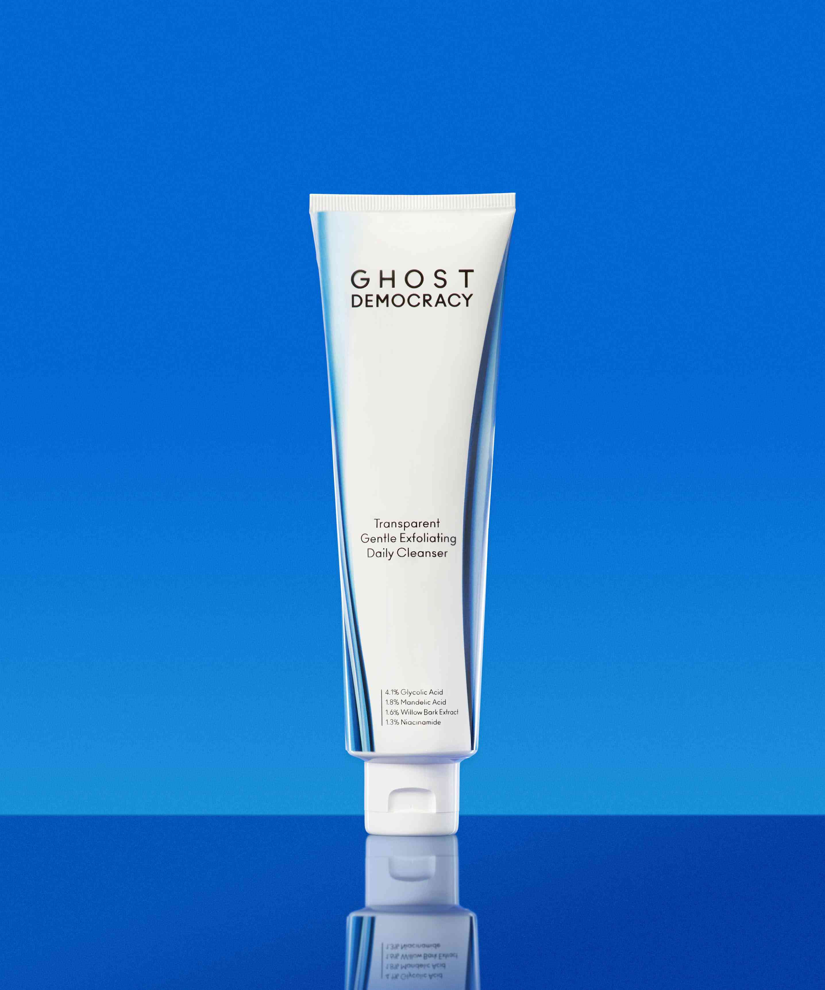 Ghost Democracy Transparent Gentle Exfoliating Daily Cleanser