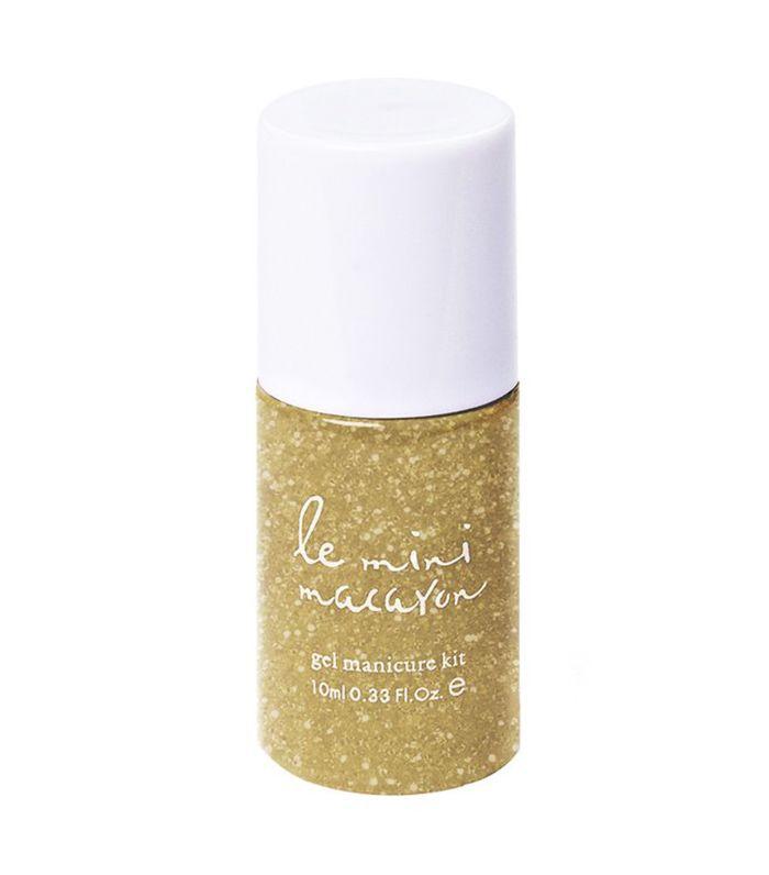 Best nail polish: Le Mini Macaron Gel Polish in Gold Glitter