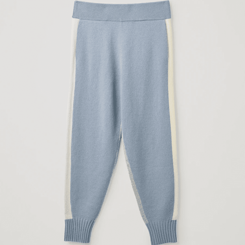Cos Cashmere Knitted Joggers