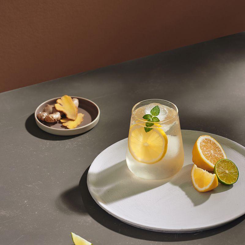 Ginger, Lemon, Mint Water