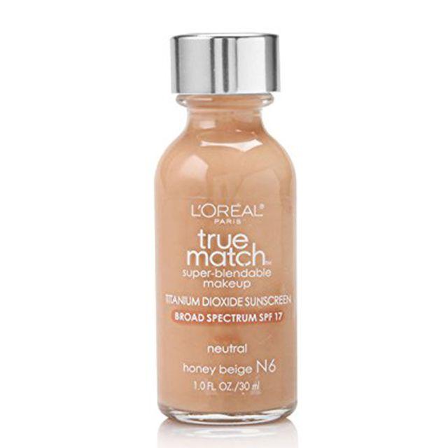 L'Oreal True Match Super-Blendable Liquid Foundation