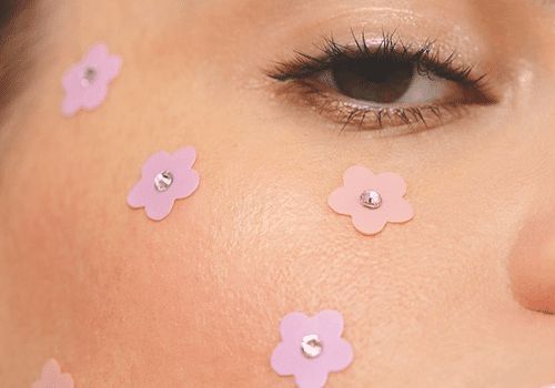 squish beauty flower acne patches