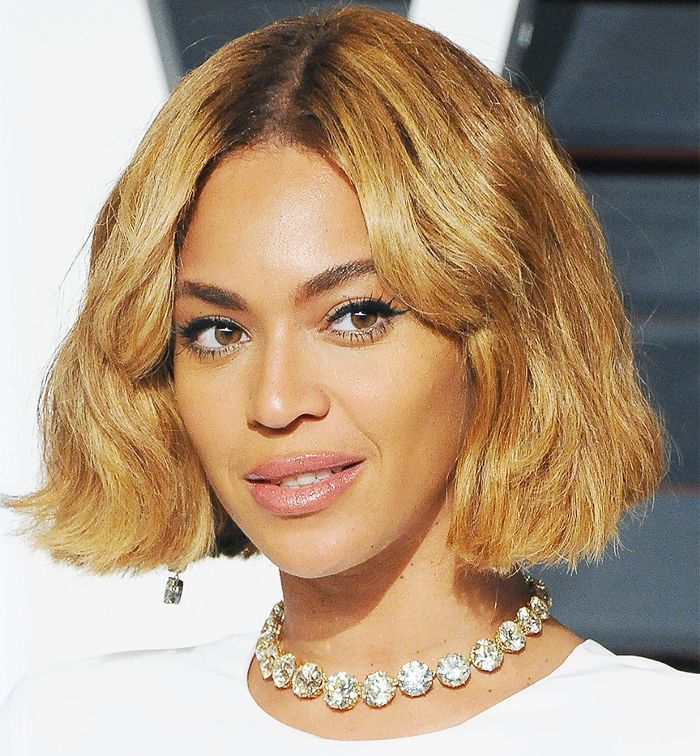 Beyonce blunt bob