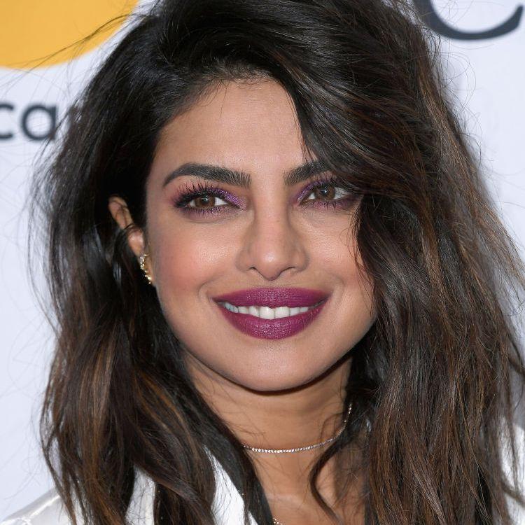 Priyanka Chopra tousled lob