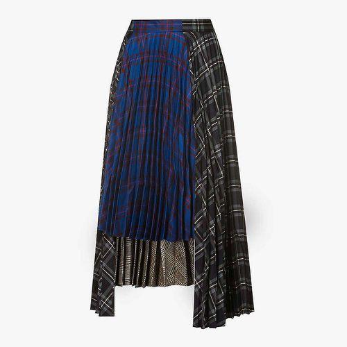 Asymmetrical Pleat Skirt ($680)