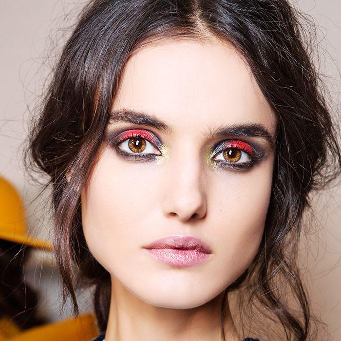 witch makeup smoky eye