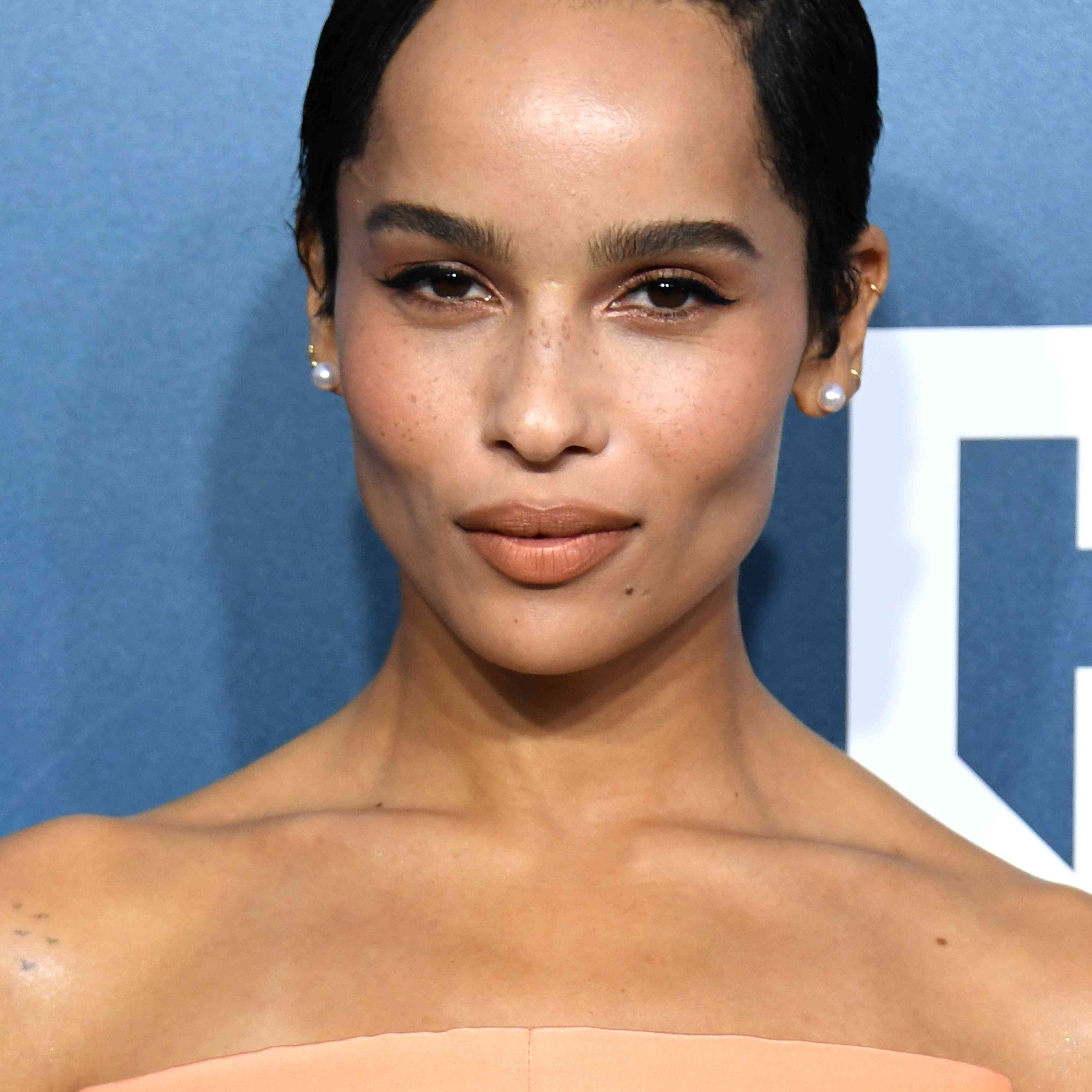Zoë Kravitz natural makeup