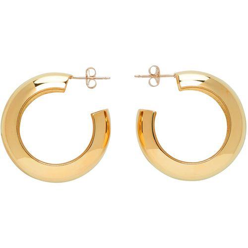Laura Lombardi Gold Cusp Hoop Earrings