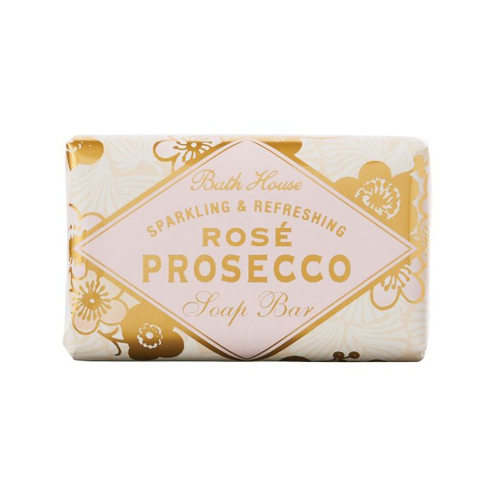eco products: The Bath House Rose Prosecco Soap Bar