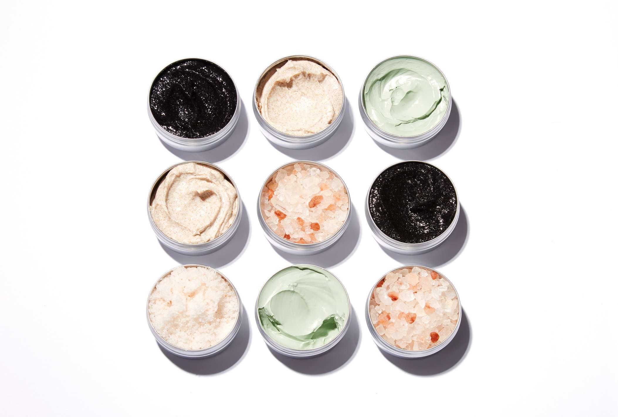 Containers Of Skincare Cream